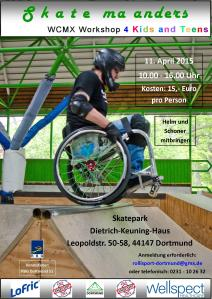 11. April 2015 - Skate ma anders in Dortmund
