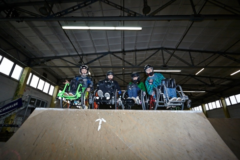 WCMX Team Germany ... Foto: Anna Spindelndreier