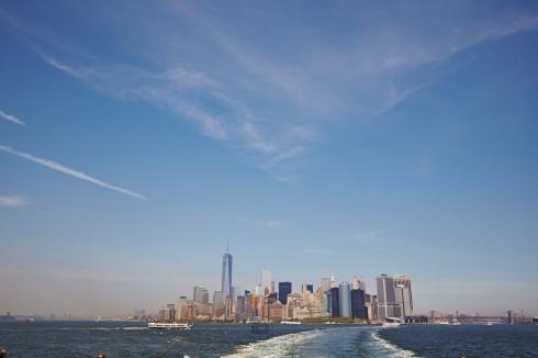 New York vom Wasser - Foto: Anna Spindelndreier