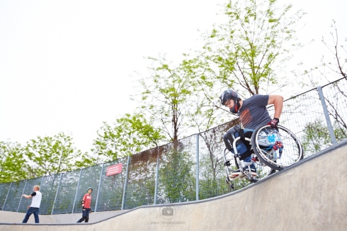 Drop In at the Chelsea Piers 62 Skatepark - Foto: Anna Spindelndreier
