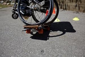 Wheelie auf nem Wheelie - Foto: Anna Spindelndreier