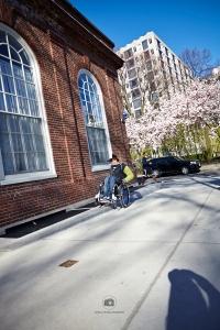 Curb irgendwo in der Nähe vom Harvard Square - Foto: Anna Spindelndreier