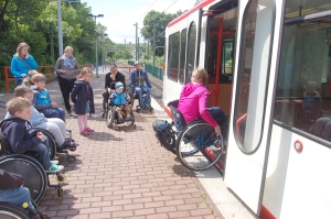Mobilitätstraining gemeinsam mit der DSW21 - Foto: RBG Dortmund 51