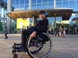 Mein neuer Rollstuhl