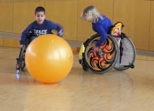 Immer am Ball: Wheelsoccer