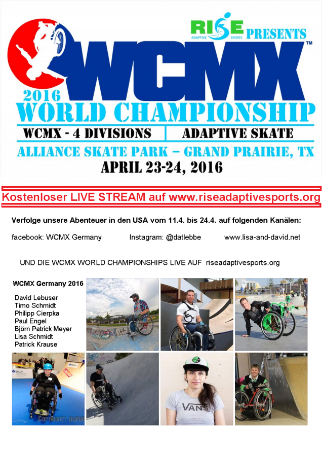 WCMX World Championships 2016 LIVE Stream überall!