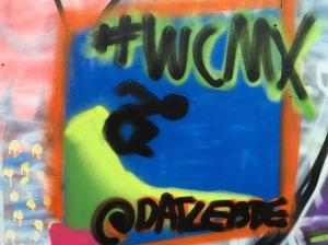 Meine Graffiti Künste lassen noch zu wünschen übrig